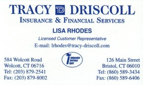 Click to see TRACY DRISCOLL Details